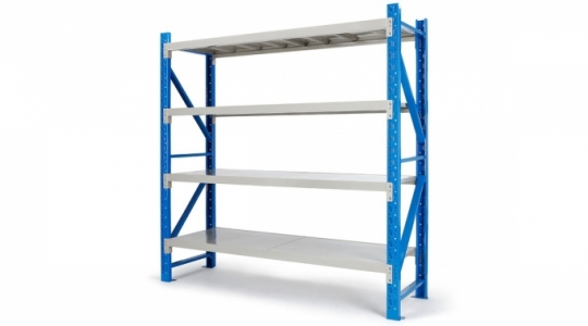 Angle Storage Shelves