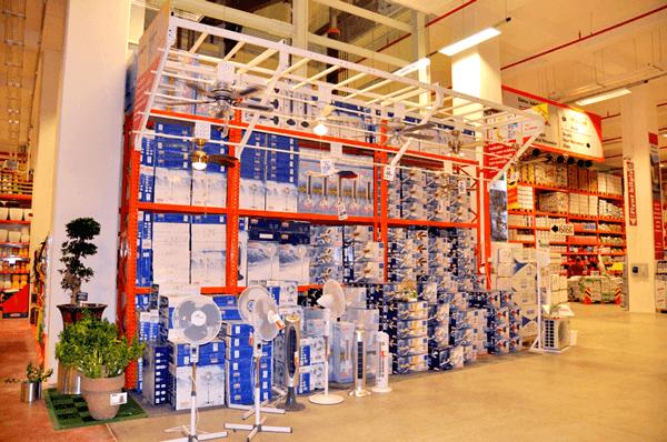 Lưu trữ hàng hóa bằng hệ thống kệ thép