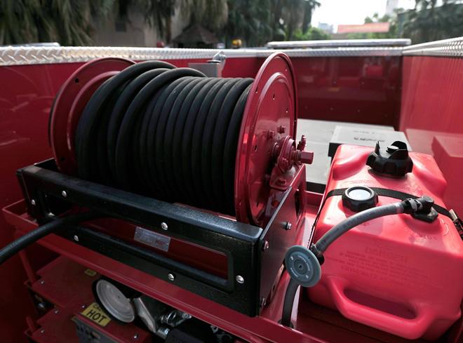 Hệ thống cuộn dây xe thang